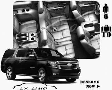 SUV Suburban for hire in Washington