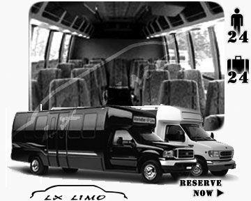 Bus for airport transfers in Washington, DC