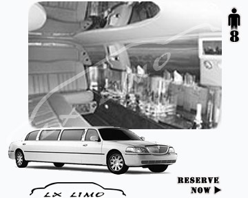 Stretch Wedding Limo for hire in Washington, ON, Canada